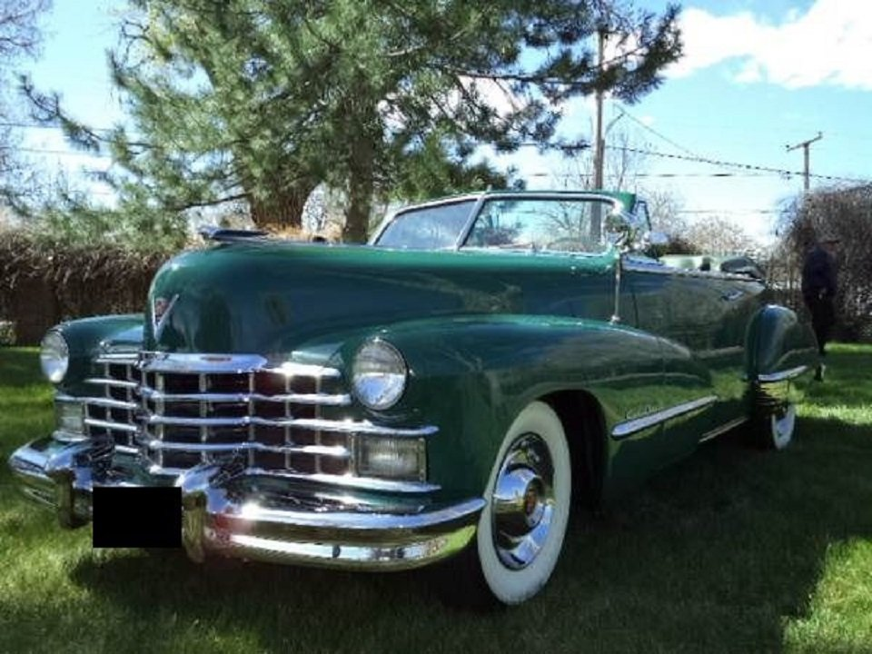 1947 Cadillac 62 Convertible For Sale (picture 3 of 6)