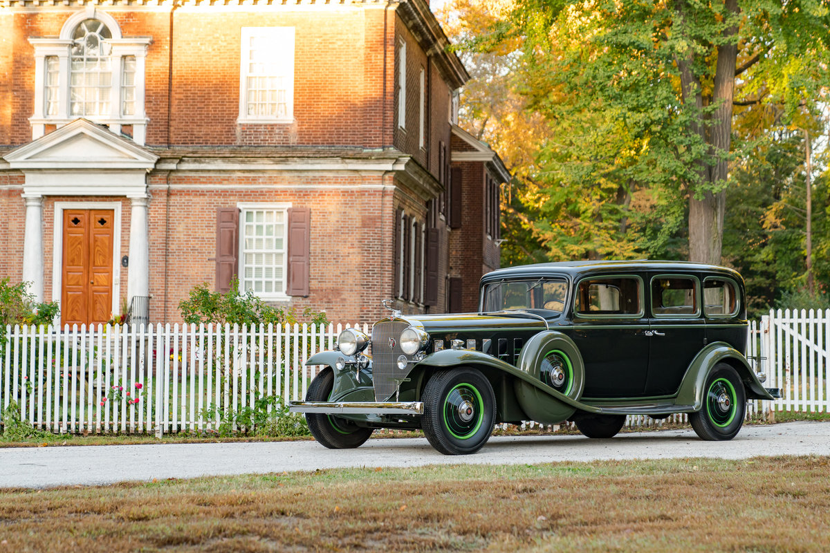 1932 Cadillac V16 452B Fleetwood Imperial Limousine For Sale (picture 3 of 5)
