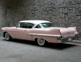 1957 Cadillac Coupe DeVille Series 62 Clean Pink Diver $46.5 For Sale