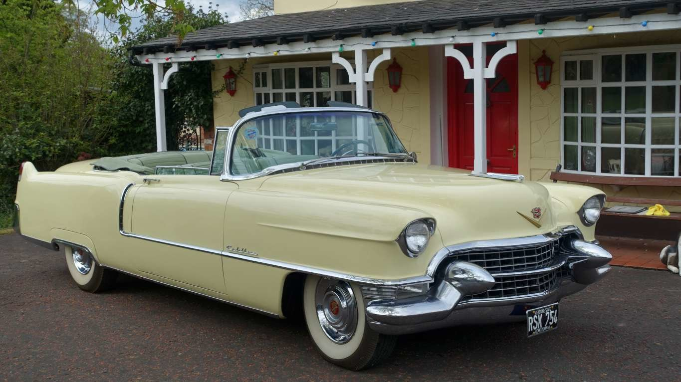 1955 Cadillac Series 62 Convertible over 20 years same owner For Sale (picture 1 of 6)