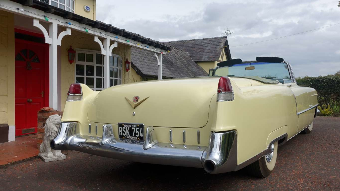 1955 Cadillac Series 62 Convertible over 20 years same owner For Sale (picture 2 of 6)
