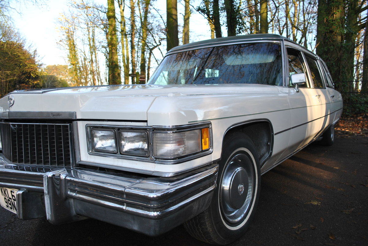 1975 Hearse Hire Cadillac Fleetwood S&S Superior Funeral Coach For Hire (picture 6 of 6)