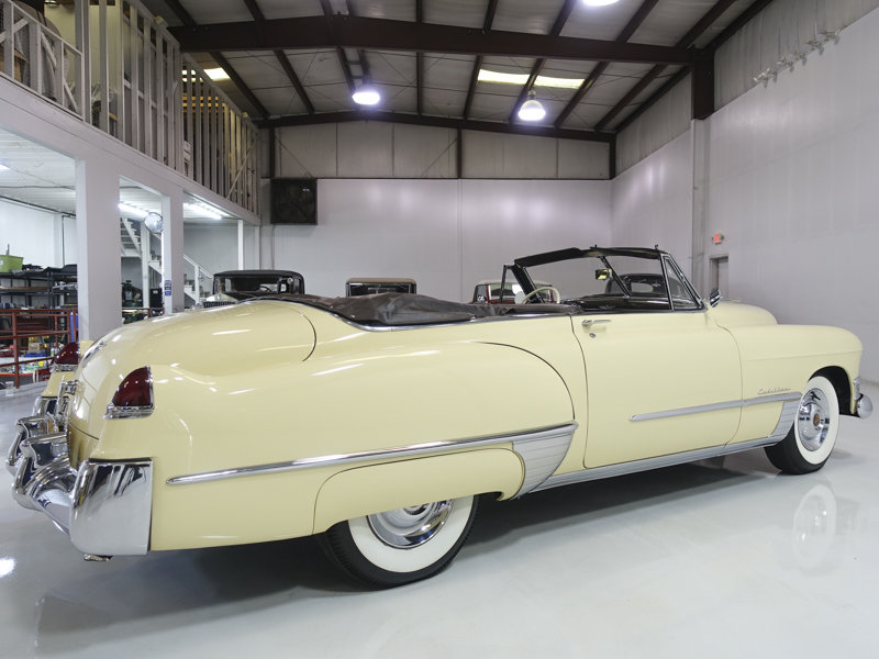 Fiesta Ivory 1949 Cadillac 62 Series Convertible For Sale (picture 2 of 6)