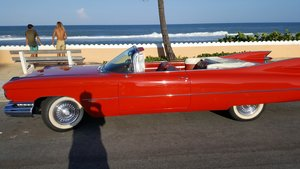 1959 Cadillac deVille Convertible .. RED For Sale