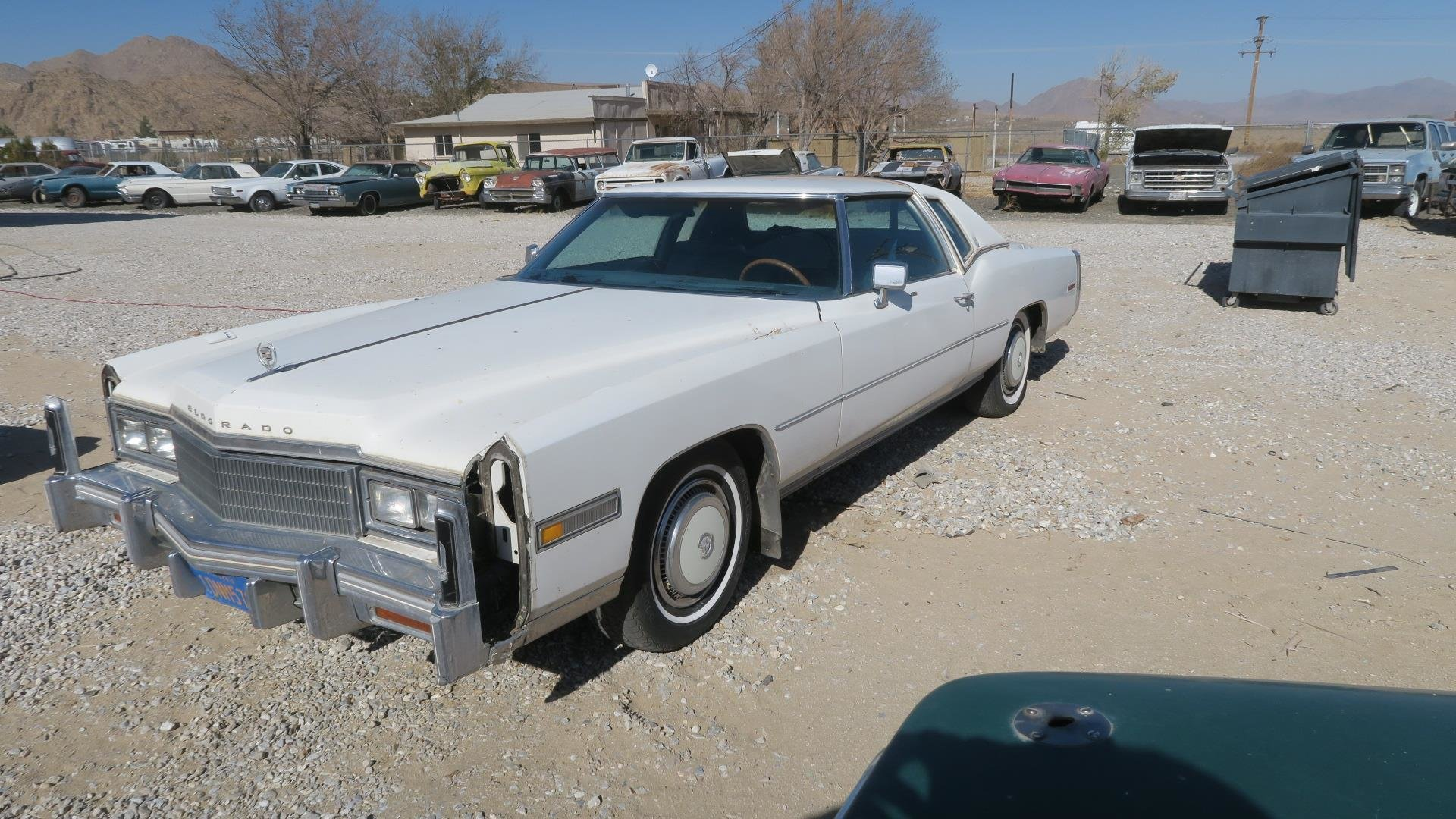 1977 Cadillac Eldorado 2 Door HardTop Project Ivory $1.5k For Sale (picture 2 of 6)