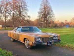 1972 Cadillac Eldorado Coupe Rare American P/X For Sale