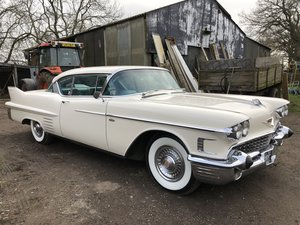 1958 CADILLAC 2 DOOR COUPE