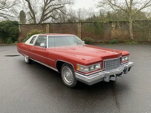 1976 Cadillac Coupe De Ville For Sale by Auction