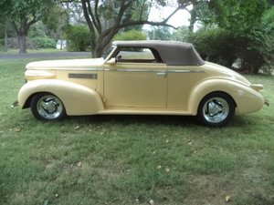 1939 Cadillac LaSalle Convertible For Sale