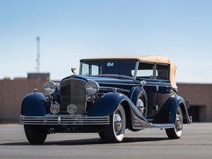 1933 Cadillac V-16 All-Weather Phaeton by Fleetwood