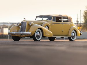1935 Cadillac V-16 Imperial Convertible Sedan by Fleetwood