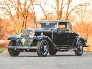1931 Cadillac V-12 Convertible Coupe by Fleetwood For Sale by Auction