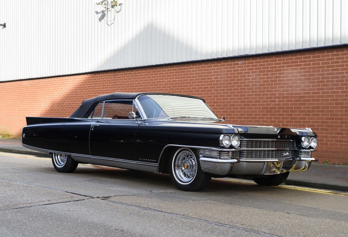 1963 Cadillac Eldorado Biarritz Convertible (LHD) For Sale (picture 3 of 22)