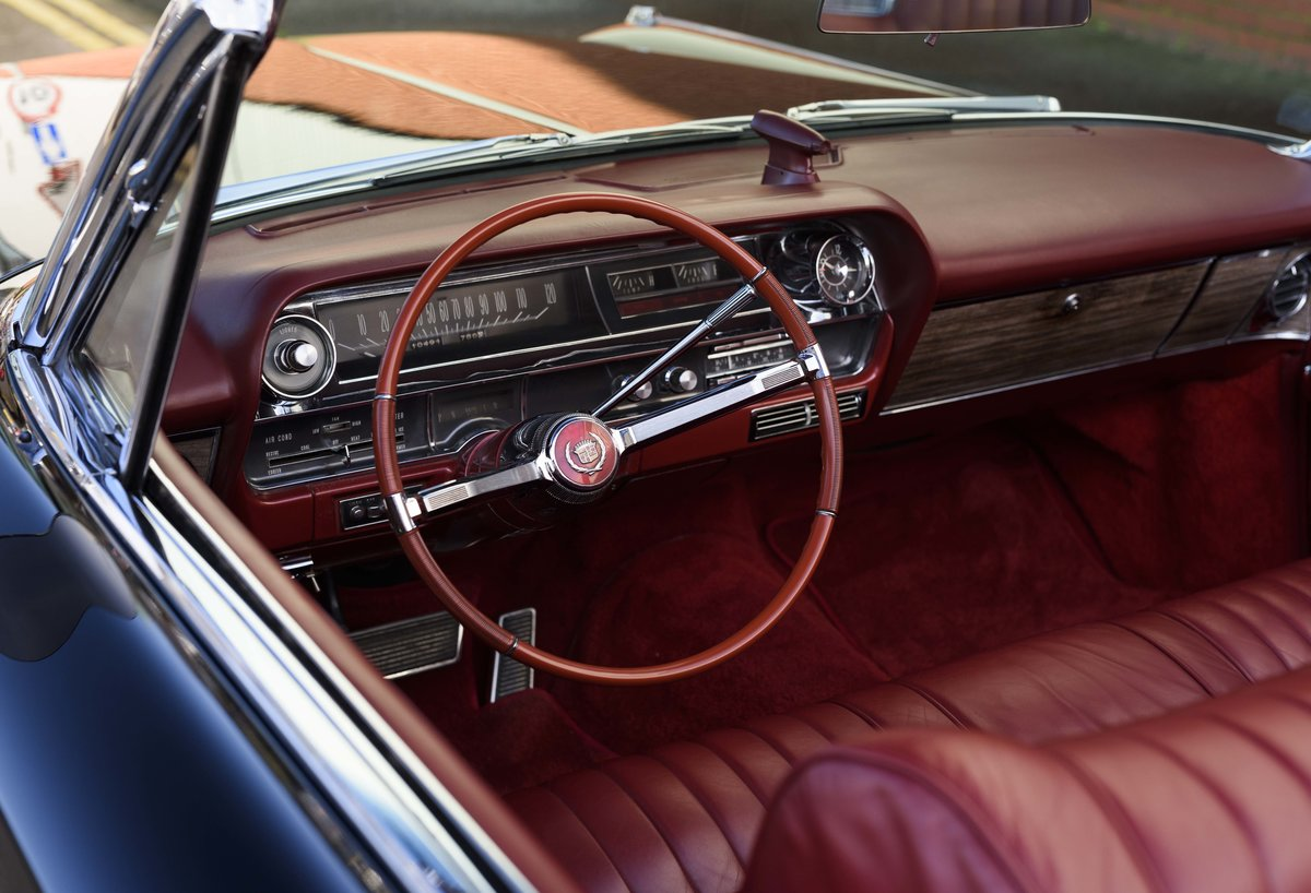 1963 Cadillac Eldorado Biarritz Convertible (LHD) For Sale (picture 15 of 22)