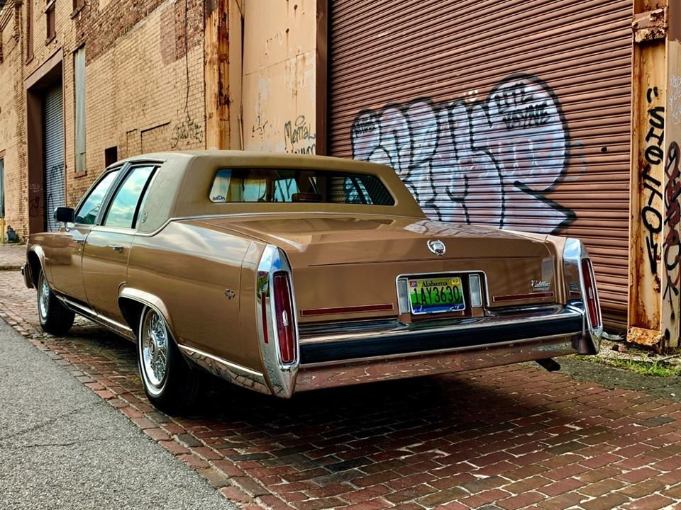 1989 Cadillac Fleetwood Brougham (Birmingham, AL) $6,900 obo For Sale (picture 2 of 6)