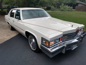 78 Sedan Deville 2-owner GORGEOUS Survivor