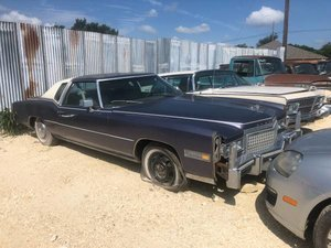 1976 Cadillac El Dorado Grey Silver Roller Project $3k usd For Sale