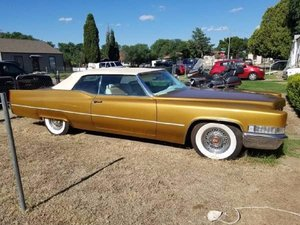 1969 Cadillac Convertible For Sale
