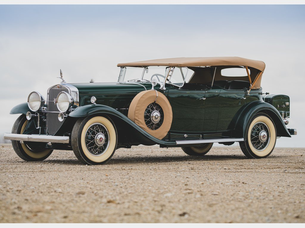 1930 Cadillac V-16 Sport Phaeton by Fleetwood For Sale by Auction (picture 1 of 6)
