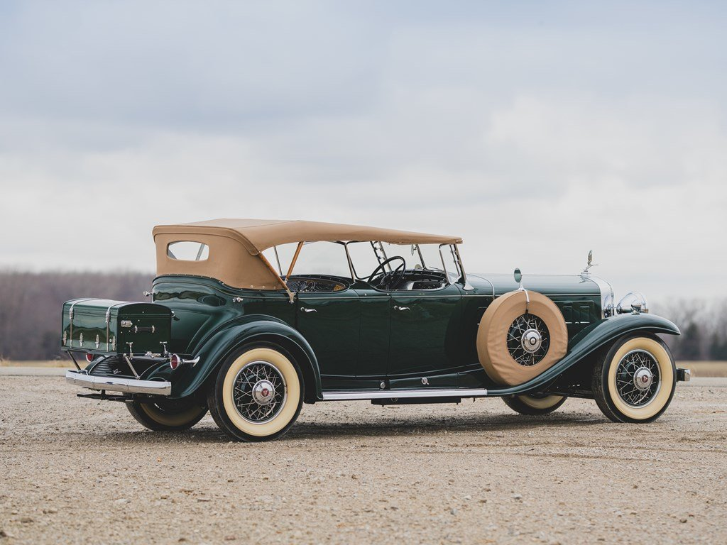 1930 Cadillac V-16 Sport Phaeton by Fleetwood For Sale by Auction (picture 2 of 6)