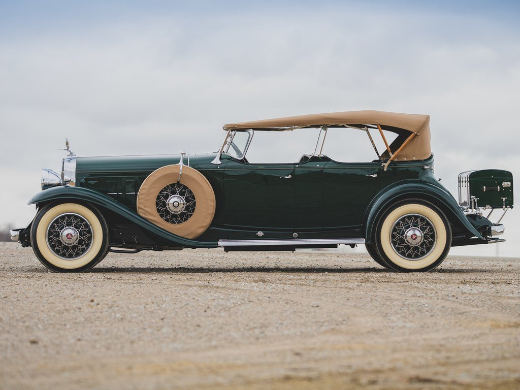 1930 Cadillac V-16 Sport Phaeton by Fleetwood For Sale by Auction (picture 5 of 6)