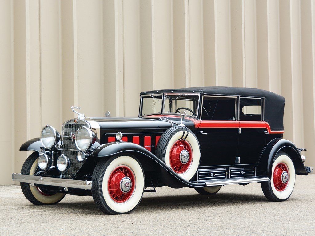 1930 Cadillac V-16 All-Weather Phaeton by Fleetwood For Sale by Auction (picture 1 of 6)