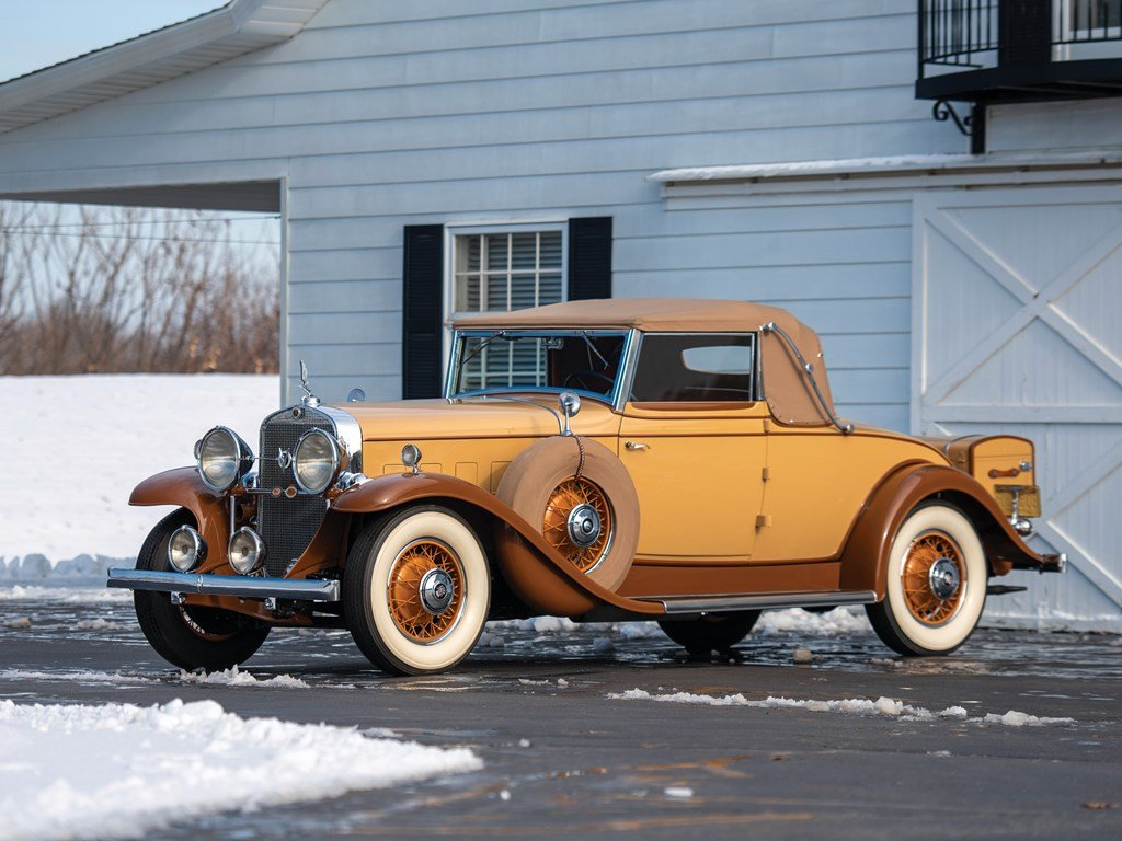 1931 Cadillac V-8 Convertible Coupe by Fleetwood For Sale by Auction (picture 1 of 6)