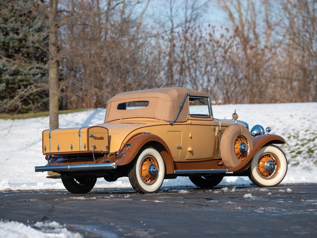 1931 Cadillac V-8 Convertible Coupe by Fleetwood For Sale by Auction (picture 2 of 6)
