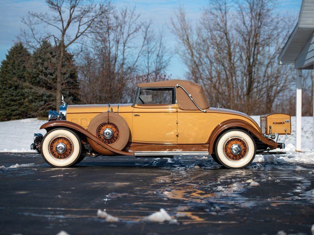 1931 Cadillac V-8 Convertible Coupe by Fleetwood For Sale by Auction (picture 5 of 6)