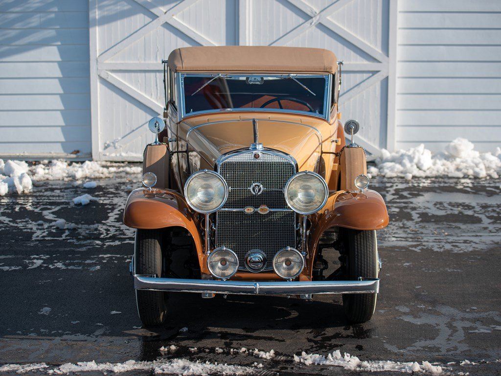 1931 Cadillac V-8 Convertible Coupe by Fleetwood For Sale by Auction (picture 6 of 6)