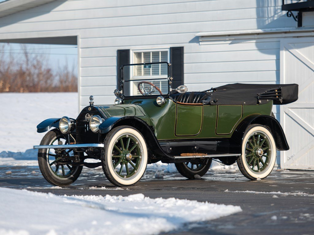 1914 Cadillac Four Five-Passenger Touring  For Sale by Auction (picture 1 of 6)