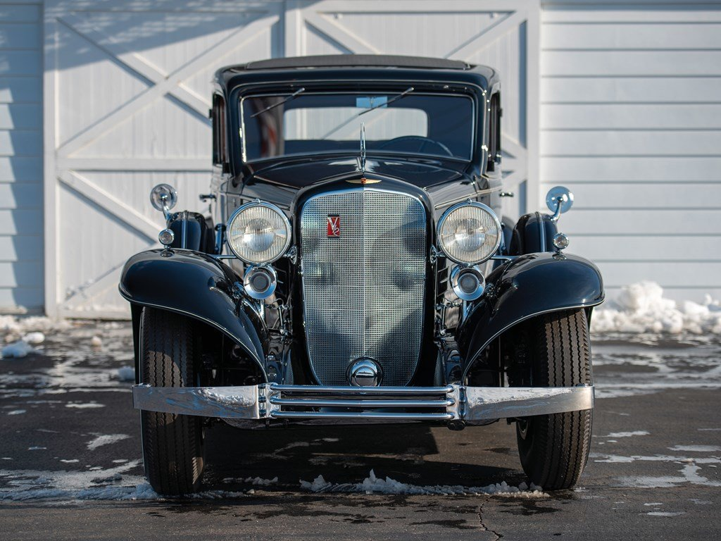1933 Cadillac V-12 Town Sedan  For Sale by Auction (picture 6 of 6)