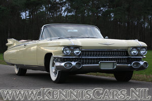 1959 Cadillac serie 62 De Ville Convertible For Sale