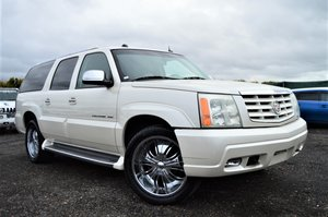 Fresh import cadillac escalade esv long wheel base