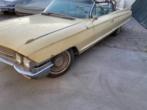 1962 Cadillac Convertible Project Runs w Gas Solid Dry $16.5