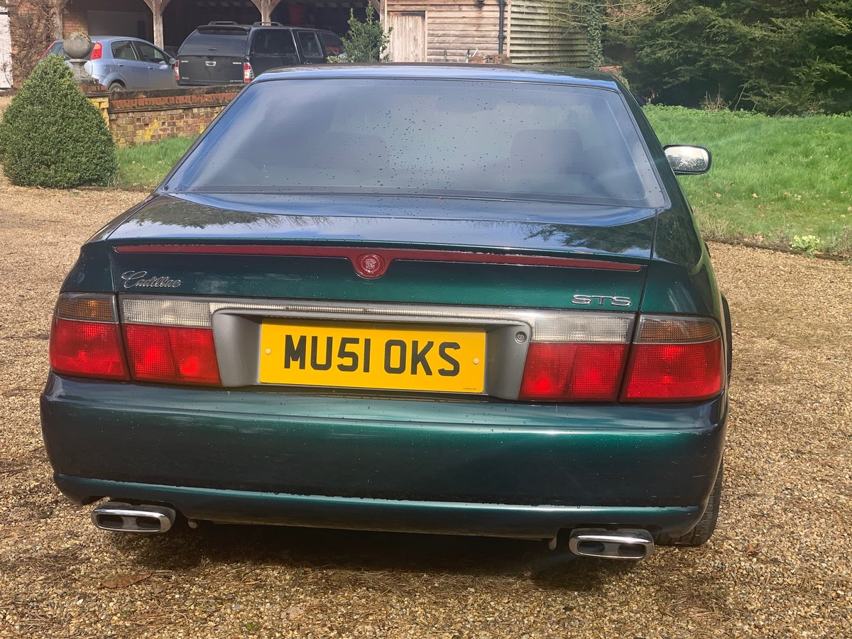 2001 Cadillac Seville STS For Sale (picture 5 of 6)