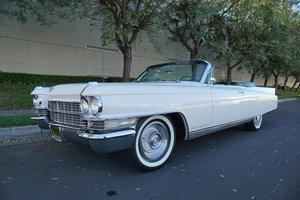 1963 Cadillac Eldorado 390/325HP Convertible with AC SOLD