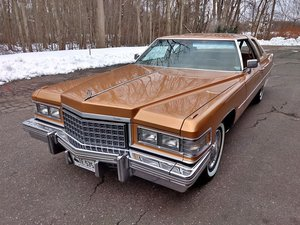 1976 Cadillac Coupe DeVille (Glastonbury, CT) $27,500 obo