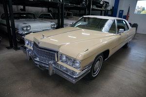 Orig 2 AZ Owner 1973 Cadillac Coupe de Ville loaded SOLD
