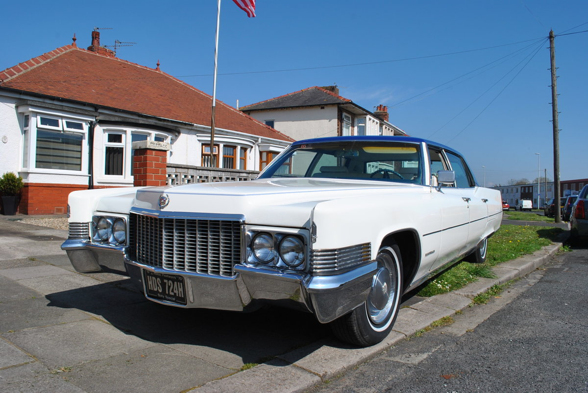 1970 WEDDING CARS  Classic Cadillac's 68-72-74   For Hire (picture 1 of 6)