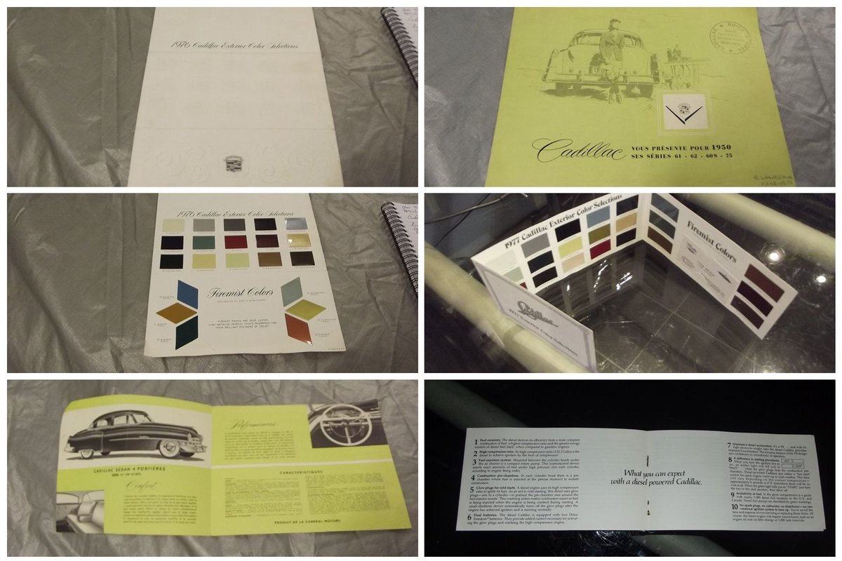 0000 CADILLAC BROCHURES AND MEMORABILIA For Sale (picture 3 of 6)