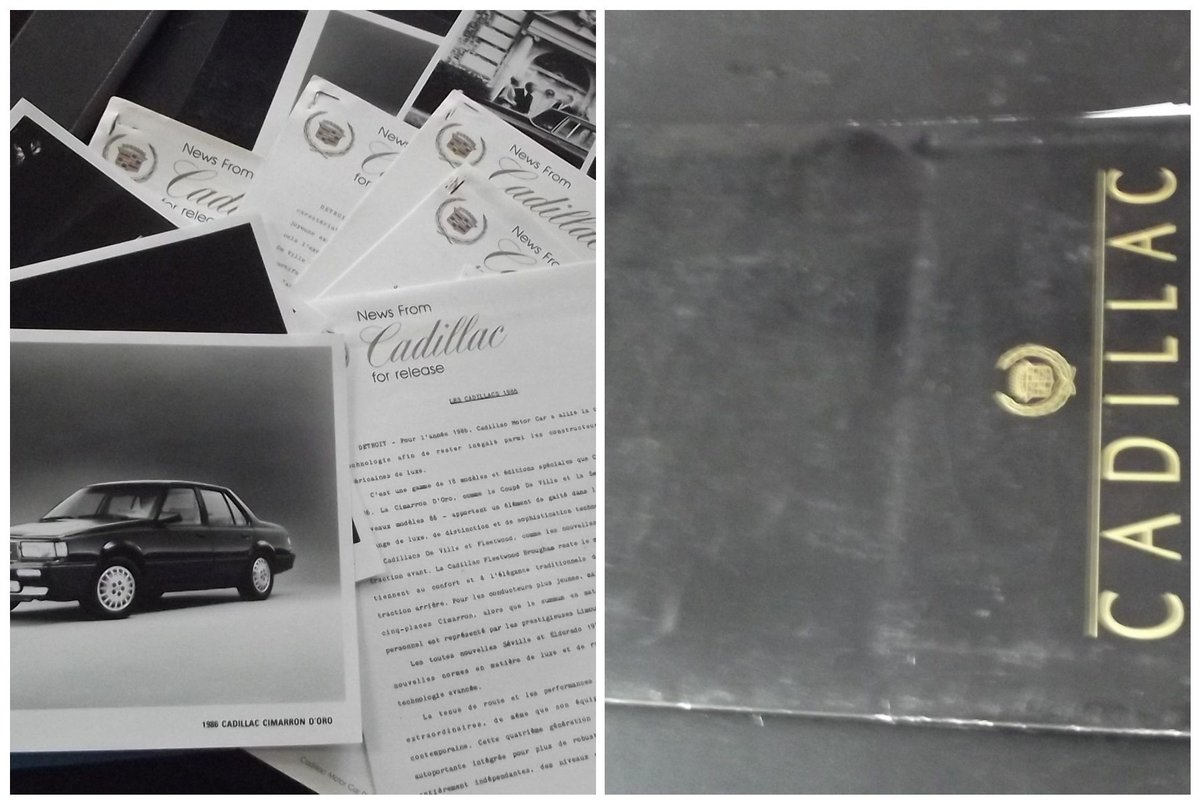 0000 CADILLAC BROCHURES AND MEMORABILIA For Sale (picture 5 of 6)
