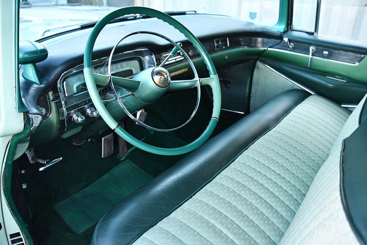 1954 Gorgeous Cadillac Coupe with probably just 92'000 km For Sale (picture 5 of 6)