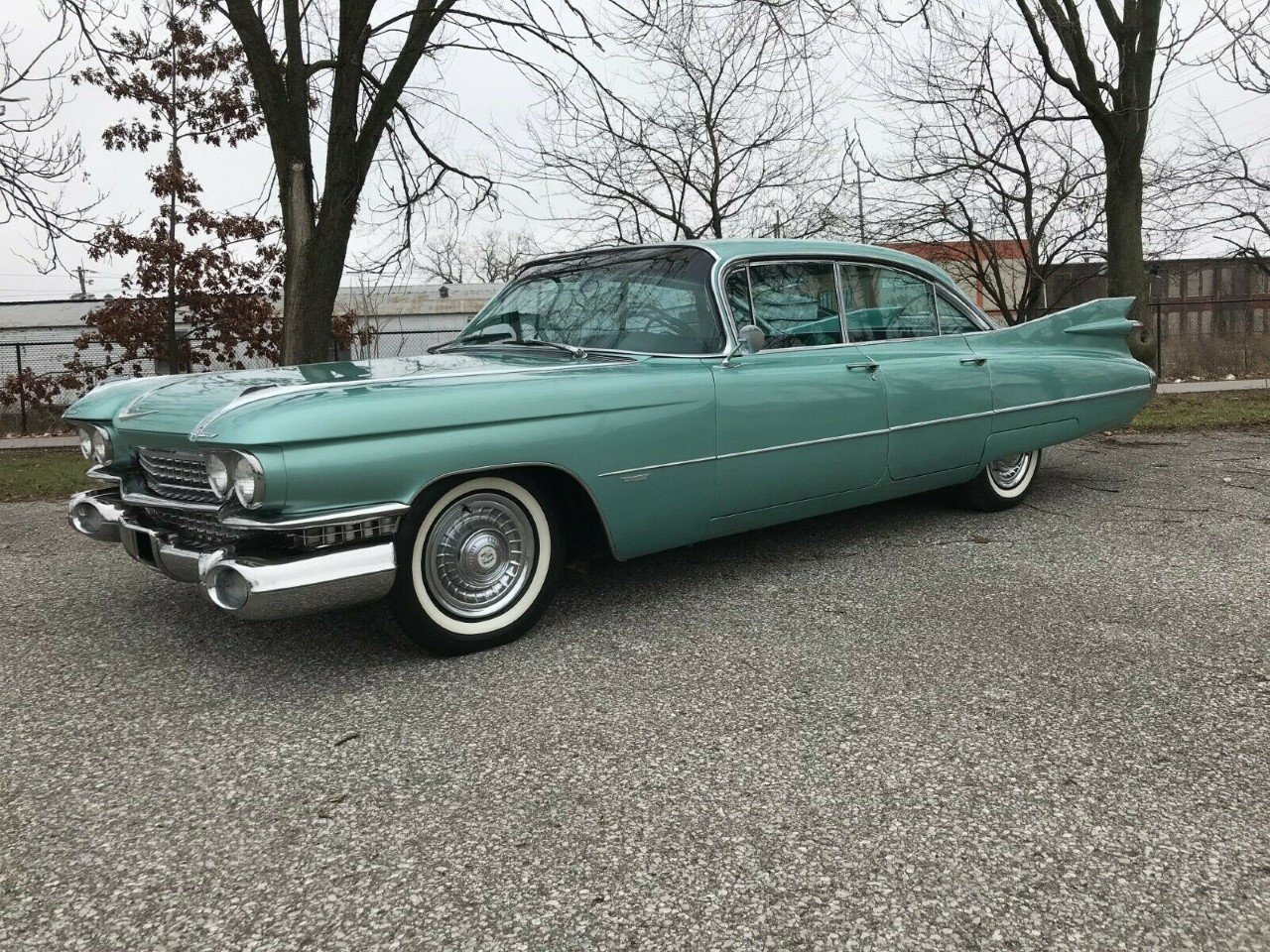 1959 Cadillac Sedan deVille 4DR HT For Sale (picture 1 of 2)
