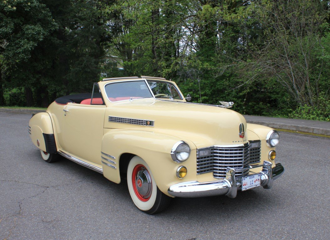 1941 Cadillac Series 62 Convertible  For Sale (picture 1 of 6)