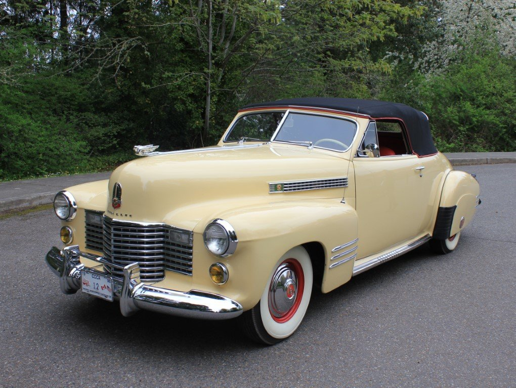 1941 Cadillac Series 62 Convertible  For Sale (picture 2 of 6)