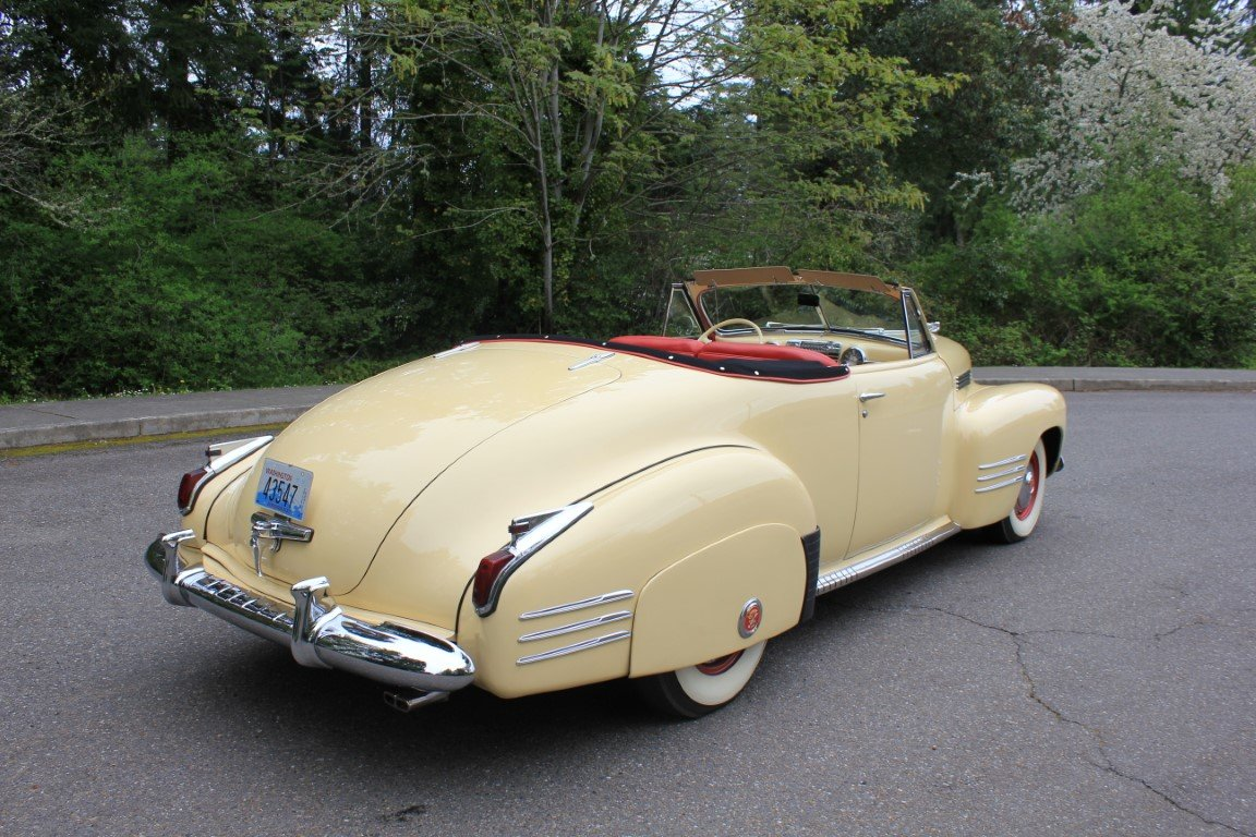 1941 Cadillac Series 62 Convertible  For Sale (picture 3 of 6)