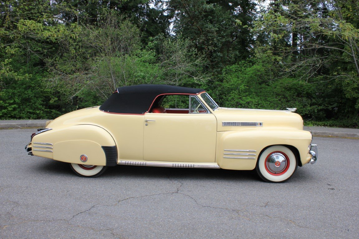 1941 Cadillac Series 62 Convertible  For Sale (picture 4 of 6)