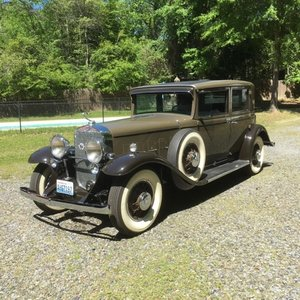 1931 Cadillac 370A 4DR Sedan