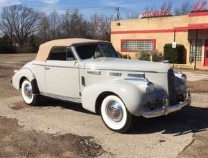 1940 Cadillac LaSalle Convertible For Sale